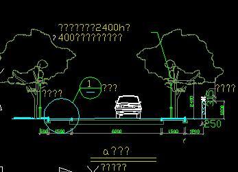 道路景观铺装设计详图