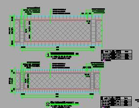 8种红色直线系列园路石材铺装样式详图