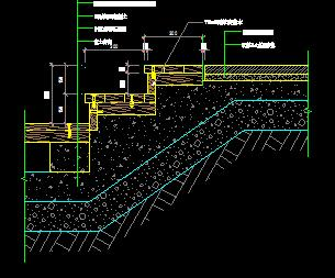 7种园林台阶结构详图