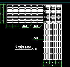 盲道砖铺装样式设计详图