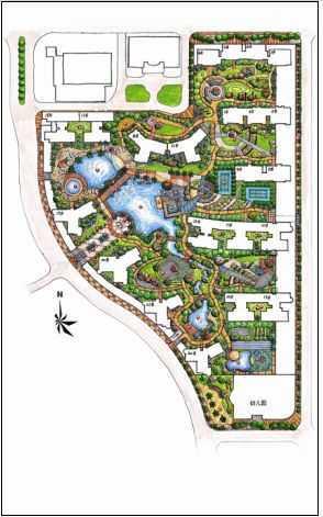 小区景观设计总平面图免费下载 - 景观规划设计