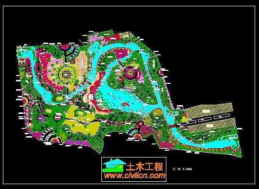 大型公园免费下载 - 景观规划设计 - 土木工程网