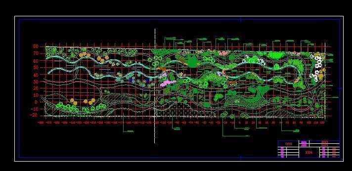 城市公园绿地景观设计图