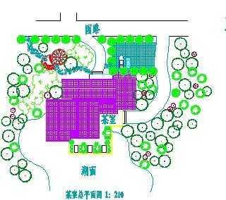 茶室规划设计 免费下载 - 景观规划设计 - 土木工程网