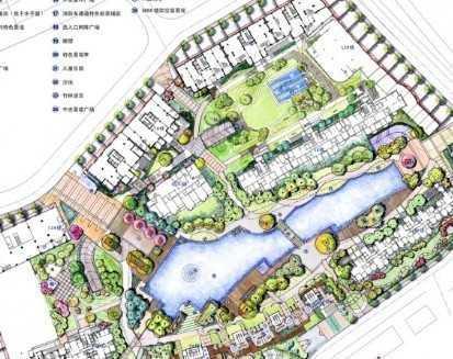 花园景观手绘扩初文本免费下载 - 景观规划设计