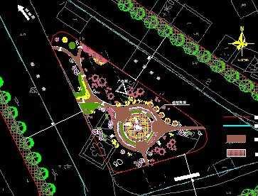 道路交叉口绿化设计
