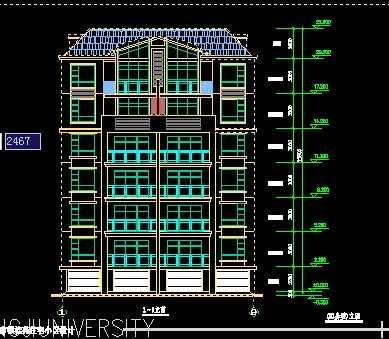小区住宅楼设计图纸