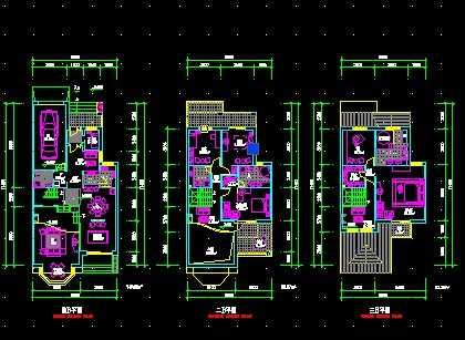 建筑cad设计图纸