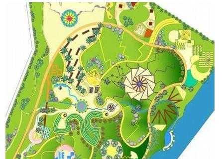 某主题公园景观设计方案图