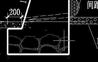重力式挡土墙断面详图图片