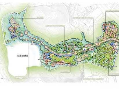 植物园城市景观生态园规划设计文本
