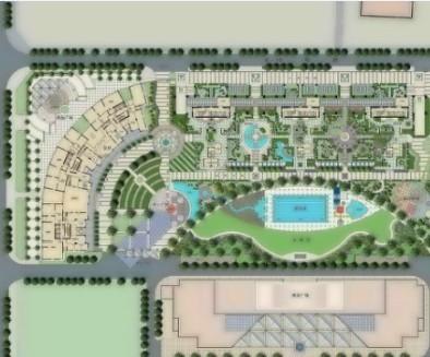 小区景观规划方案总图设计