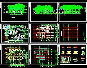 某小公园景观规划设计图