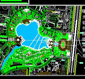 某软件园景观规划设计图纸