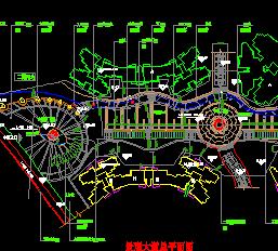 广场景观规划设计CAD图纸