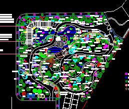 生物园规划设计图纸