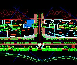 某市道路景观规划设计图纸