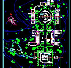 某寺庙景观规划设计图纸