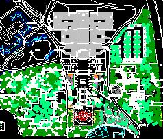 寺庙景观规划设计图纸