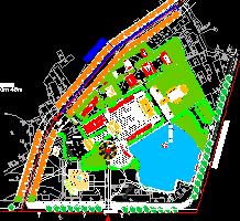 公园寺庙景观规划设计图纸