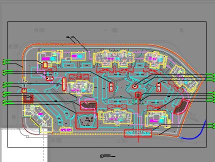 住宅区景观工程施工图纸