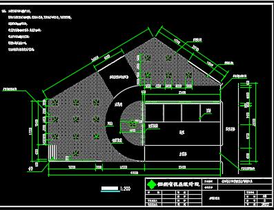某小区绿化工程建筑施工图纸