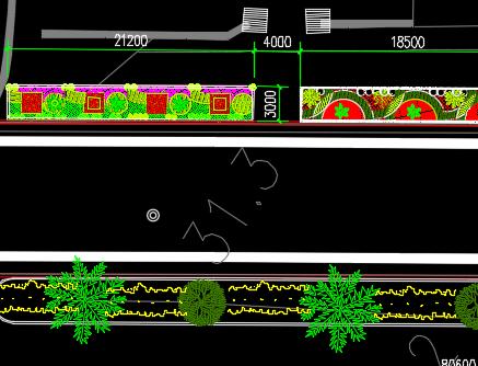 城市公路绿化规划设计图纸