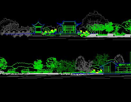 19套农业度假生态景观规划平面图