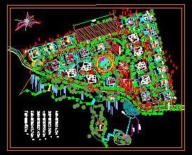 别墅区景观规划设计图纸