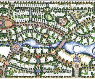 别墅区主要景观设计方案文本