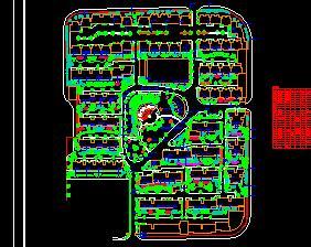 58913.36平米别墅区绿化规划设计图纸