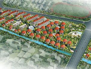 别墅住宅区景观规划设计方案文本