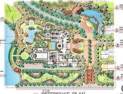别墅区景观设计方案文本(手绘版)