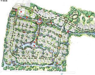 304公顷别墅区景观概念设计方案文本