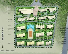 别墅区景观房产设计方案文本
