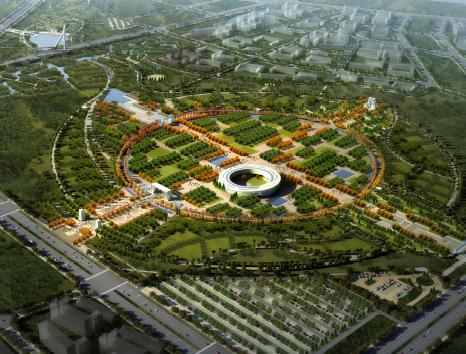 苑林古城智能生态绿廊园博会总体景观方案文本