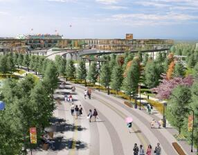 9.4公顷广场景观设计概念方案文本