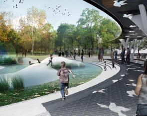 某体育公园概念性方案设计文本