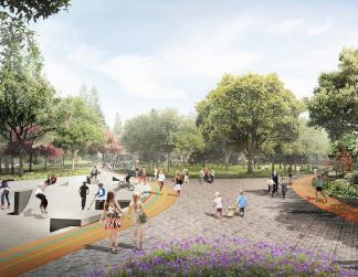 体育公园景观最终概念设计方案文本