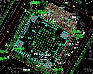 4612.85平米农业大学学校景观规划设计图纸