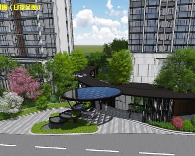 商住区项目景观概念设计方案文本