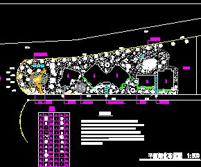 别墅区景观设计图纸