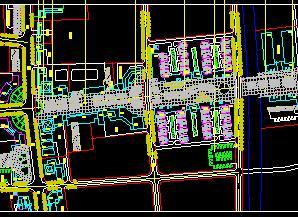 某县城街景景观详细规划设计图纸