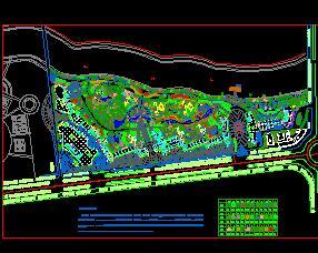 住宅小区绿化总平面设计图