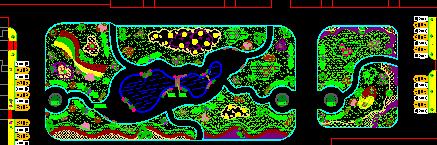 机关单位庭院景观设计平面图
