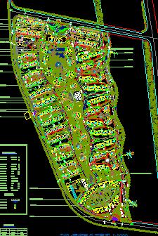 公园景观设计总平面图