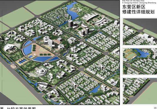 综合住宅区景观绿化设计图