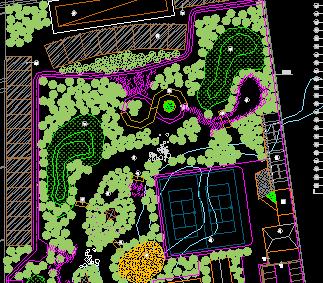 水乡农业生态园平面规划图