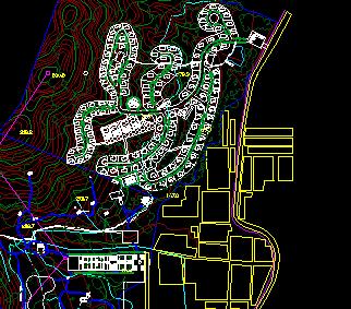 某住宅区景观规划设计图