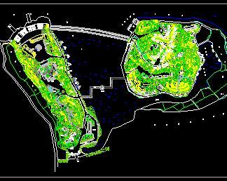 别墅山庄环境景观规划设计图纸